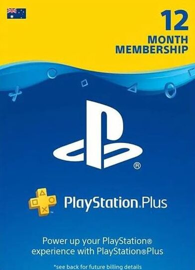 PlayStation Plus Card 365 Days (AU) PSN Key AUSTRALIA