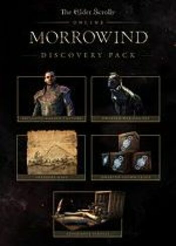 The Elder Scrolls Online: Morrowind - The Discovery Pack (DLC) Official Website Key GLOBAL