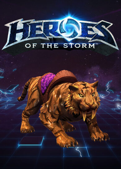 Heroes of the Storm - Golden Tiger Mount (DLC) Battle.net Key GLOBAL