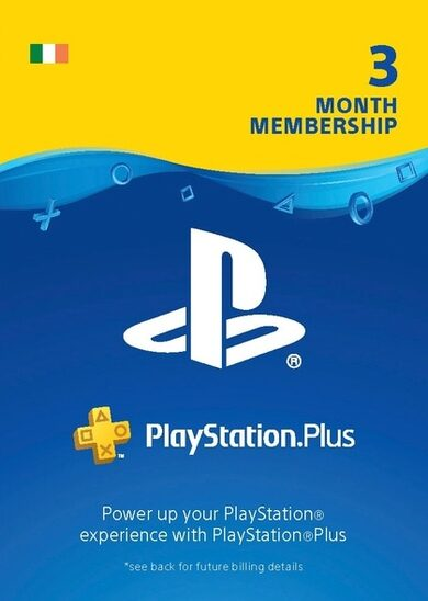 PlayStation Plus Card 90 Days (IE) PSN Key IRELAND