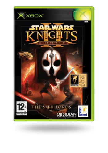 STAR WARS Knights of the Old Republic II - The Sith Lords Xbox