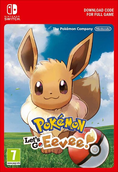 Pokemon: Let's Go, Eevee! (Nintendo Switch) eShop Key EUROPE