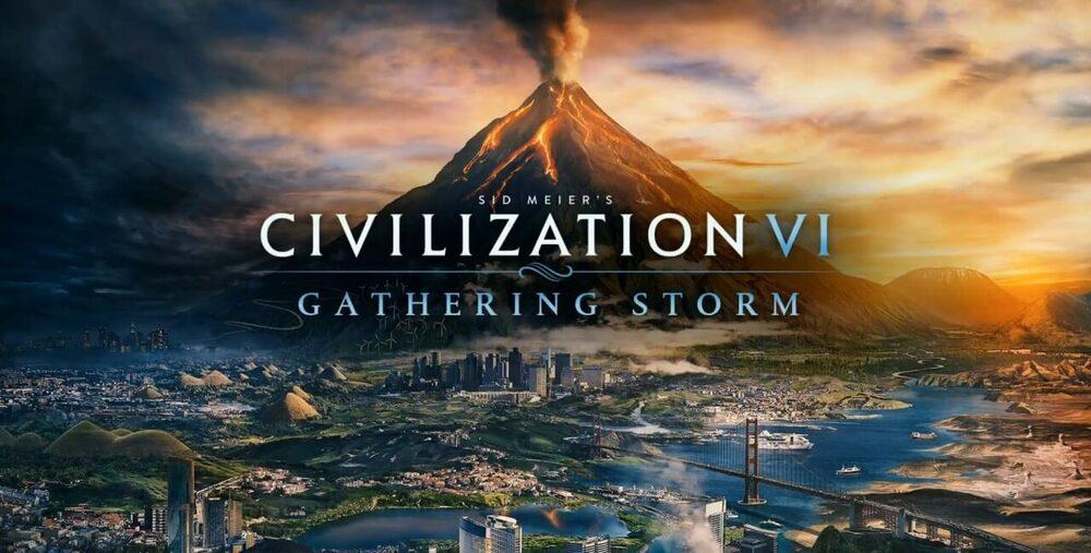 Civilization 6: Gathering Storm (DLC) Steam Key EUROPE