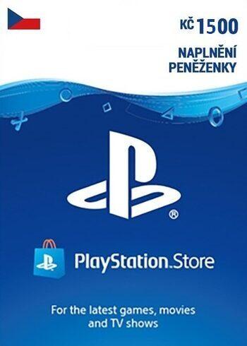 PlayStation Network Card 1500 CZK (CZ) PSN Key CZECH REPUBLIC