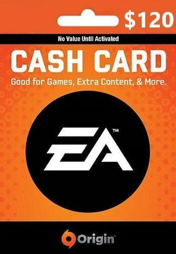EA Origin Cash Card 120 USD Origin Key UNITED STATES