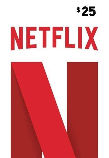 Netflix Gift Card 25 USD Key UNITED STATES