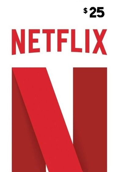 Netflix Gift Card 25 USD Key UNITED STATES