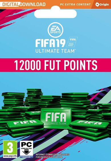 FIFA 19 - 12000 FUT Points Origin Key GLOBAL