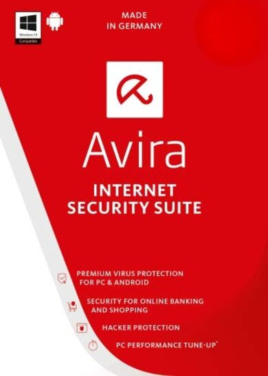 Avira Internet Security Suite 1 Device 3 Years Avira Key GLOBAL