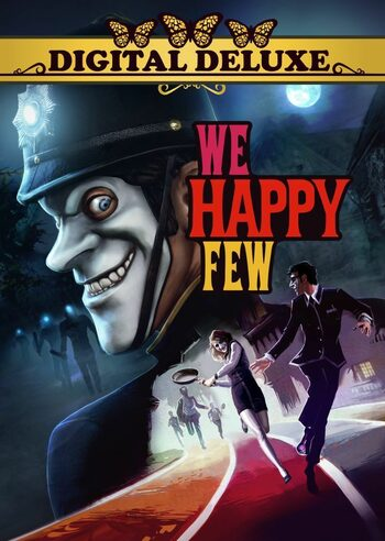 We Happy Few Digital Deluxe Edition Steam Key GLOBAL