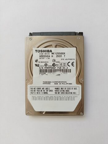 """HDD TOSHIBA MK1255GSX 120GB 2,5"""""""