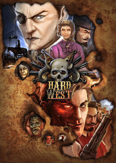 Hard West Steam Key GLOBAL