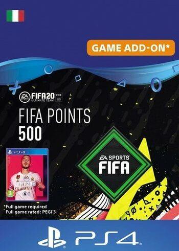 FIFA 20 - 500 FUT Points (PS4) PSN Key ITALY
