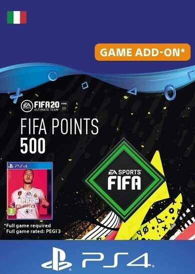FIFA 20 - 500 FUT Points (PS4) PSN Key ITALY фото