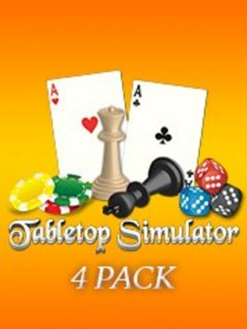 Tabletop Simulator 4 Pack Steam Key GLOBAL