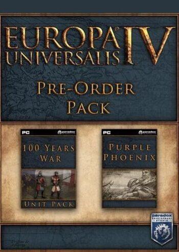 Europa Universalis IV - PRE-ORDER Bonus (DLC) Steam Key GLOBAL