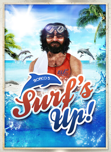 Tropico 5 - Surfs Up! (DLC) Steam Key EUROPE
