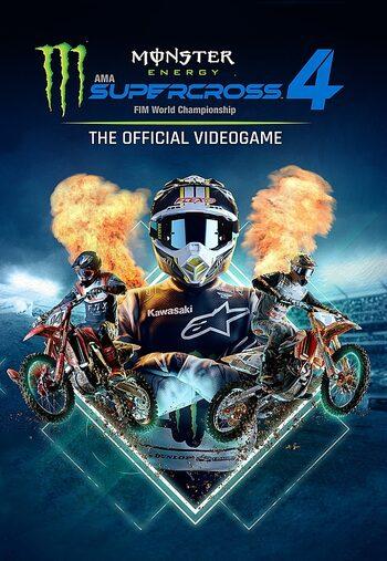 Monster Energy Supercross - The Official Videogame 4 Steam Key RU/CIS