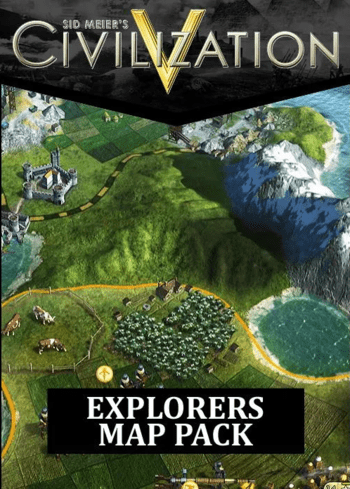 Sid Meier's Civilization V - Explorer's Map Pack (DLC) Steam Key GLOBAL