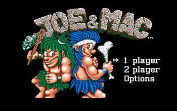 Joe & Mac Game Boy