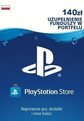 PlayStation Network Card 140 PLN (PL) PSN Key POLAND