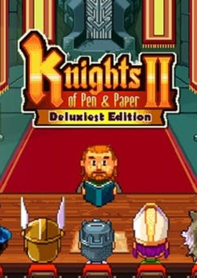 Knights of Pen and Paper 2 - Deluxiest Edition Steam Key GLOBAL