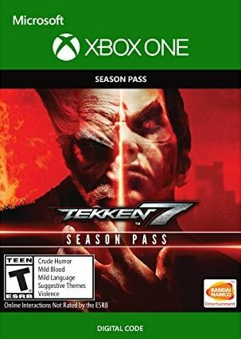 Tekken 7 - Season Pass (DLC) (Xbox One) Xbox Live Key UNITED STATES