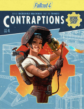 Fallout 4 - Contraptions Workshop (DLC) Steam Key GLOBAL