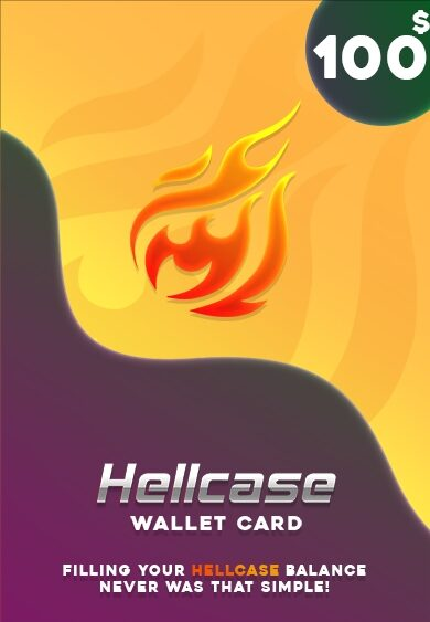 Hellcase.com Wallet Card 100 USD Key GLOBAL