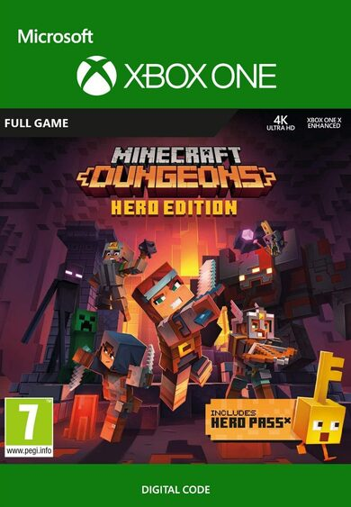 Minecraft Dungeons: Hero Edition (Xbox One) Xbox Live Key GLOBAL