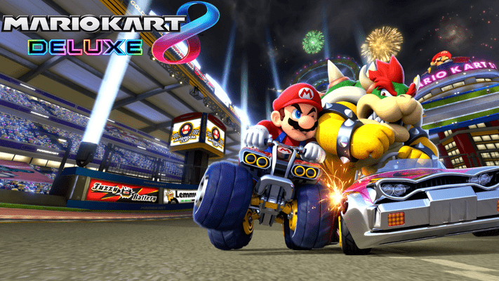 Mario Kart 8 Deluxe Nintendo Switch Eshop Key Europe