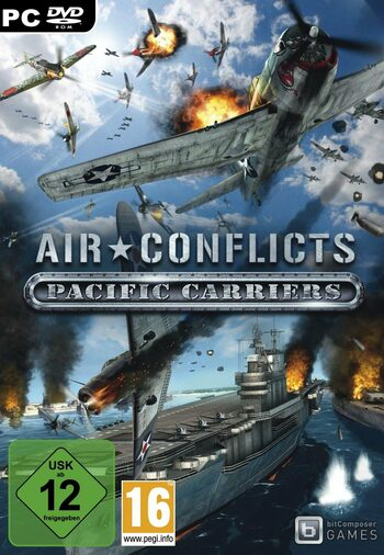 Air Conflicts Pacific Carriers Steam Key GLOBAL