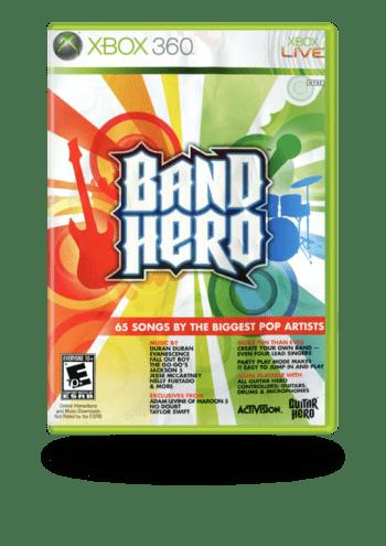 Band Hero Xbox 360