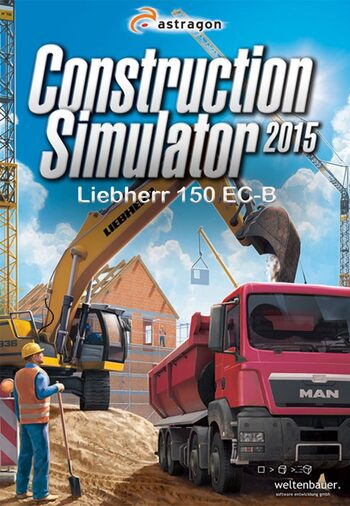 Construction Simulator 2015: Liebherr 150 EC-B (DLC) Steam Key GLOBAL
