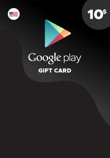 Google Play Gift Card 10 USD Key NORTH AMERICA