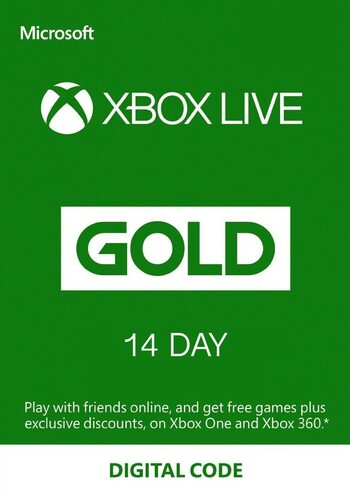 Xbox Live Gold 14 days Xbox Live Key EUROPE
