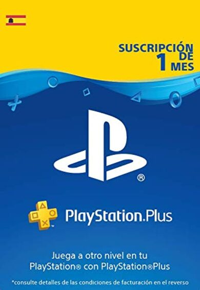 PlayStation Plus Card 30 días (ES) ESPAÑA