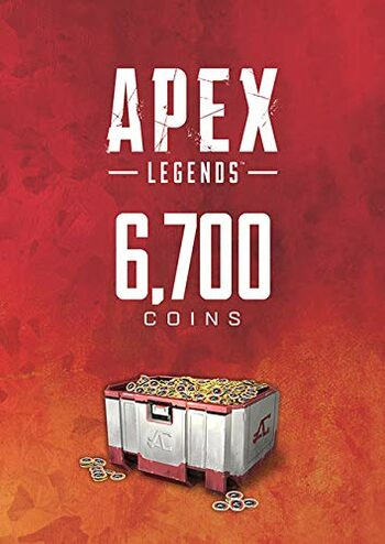 Apex Legends 6700 Monedas Apex Origin Key GLOBAL