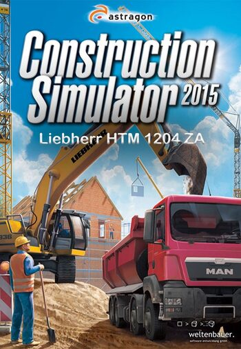 Construction Simulator 2015: Liebherr HTM 1204 ZA (DLC) Steam Key GLOBAL