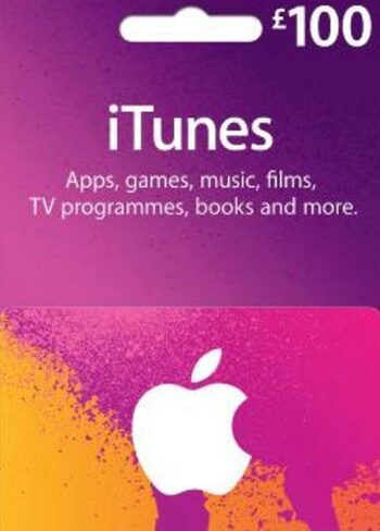 Apple iTunes Gift Card 100 GBP (UK) iTunes Key UNITED KINGDOM