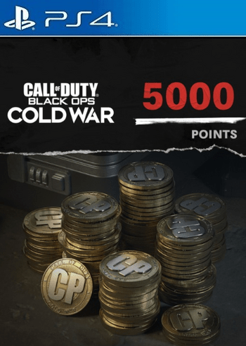 500 Call of Duty: Black Ops Cold War Points PS4/PS5 (PSN) Key UNITED STATES