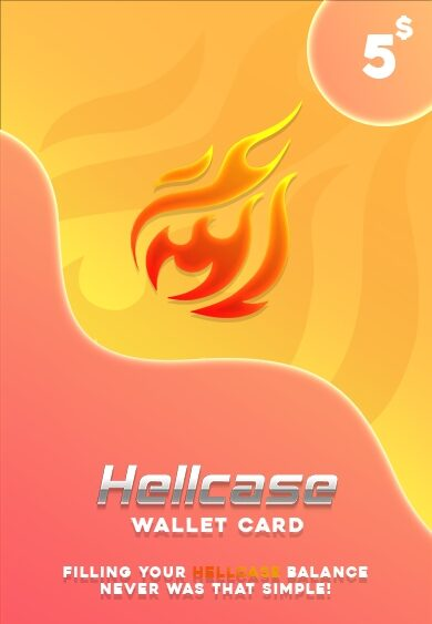 Hellcase.com Wallet Card 5 USD Key GLOBAL