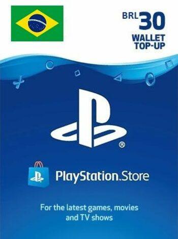 PlayStation Network Card 30 BRL (BR) PSN Key BRAZIL