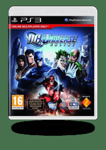 DC Universe Online PlayStation 3