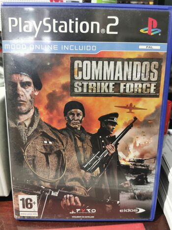 Commandos: Strike Force PlayStation 2