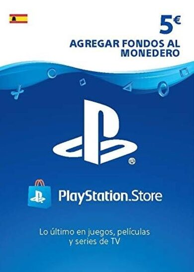 PlayStation Network Card 5 EUR (ES) PSN Key SPAIN
