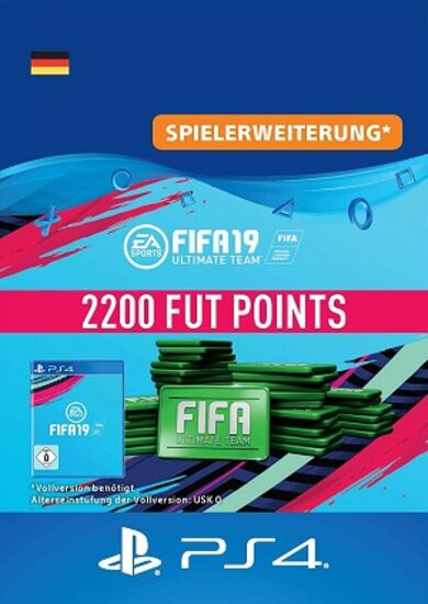 FIFA 19 - 2200 FUT Points (PS4) PSN Key GERMANY