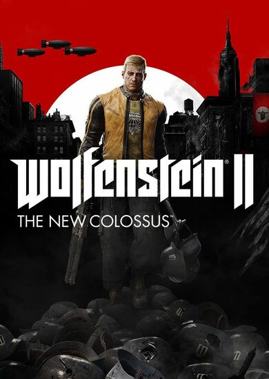 Wolfenstein II: The New Colossus cut Steam Key EUROPE