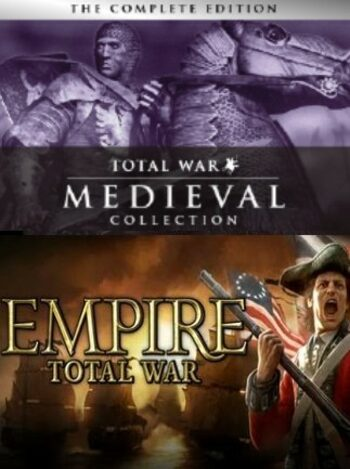 Empire & Medieval: Total War Collections Steam Key GLOBAL