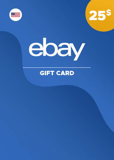 eBay Gift Card 25 USD Key UNITED STATES